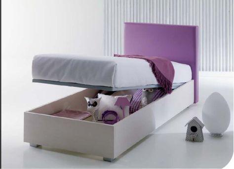 Divano letto con secondo letto estraibile o contenitore modello
