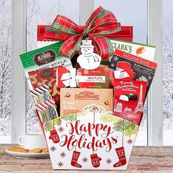 Santas Surprise Holiday Basket Holiday Baskets Holiday Gifts