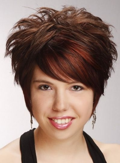 Short Spiky Hairstyles For Women Short Hairstyles For Thick Hair Chocolate Brunette Hair Color Short Hair Styles