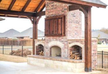 Outdoor Fireplaces Pmh Okc En 2020