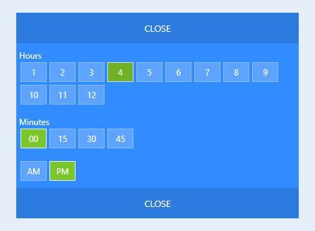 Easy User-friendly Time Picker Plugin - jQuery timebox