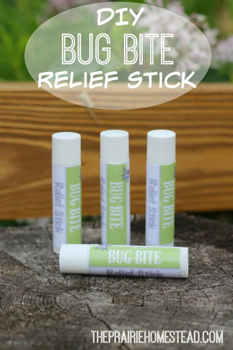 I love how convenient these DIY bug bite relief sticks are. And the ingredients are simple too.