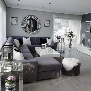 290 Grey Glamour Living Room Ideas Glamour Living Room Home Decor Living Room