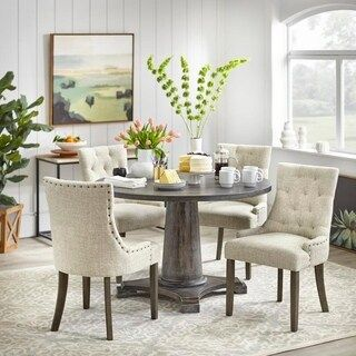 Shop For Angelo Home Ariana Dining Set Ships To Canada At Overstock Your Online Furniture Shop 18588367 Dining Room Sets Nook Dining Set Dining Chairs