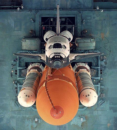 Ônibus espacial.