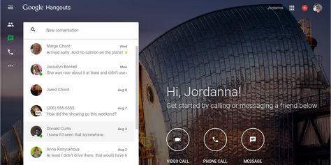 Google Hangouts finally has its own website