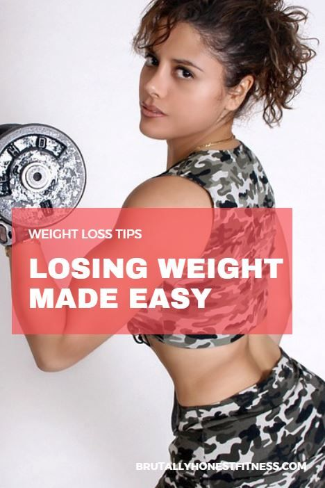 2. Working out won't result in fat loss if you don't also address your diet.