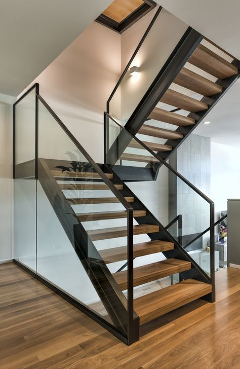 Layla Sconce By Stone Lighting Ws425Sn In 2020 Staircase | Glass And Chrome Staircase | Contemporary | White Post | Single Spine | Lights | Stainless Steel