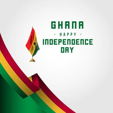 Happy Ghana Independence Day Vector Template Design Illustration Happy Icons Template Icons Day Icons Png And Vector With Transparent Background For Free Dow Illustration Design Template Design Independence Day Greeting Cards
