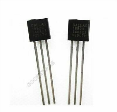 DS1820 50PCS Digital Thermometer IC DALLAS//MAXIM TO-92 DS18S20 DS18S20