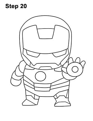 Mini Iron Man Drawing 20 Iron Man Drawing Iron Man Drawing Easy Mini Iron