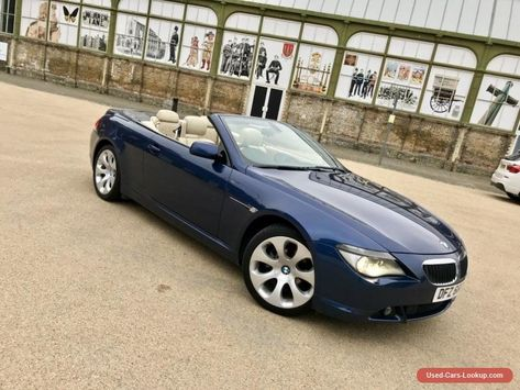 Bmw 630ci 3 0 Auto Convertible 6 Series Fully Loaded Stunning Bmw 630 Forsale Unitedkingdom