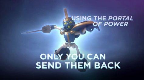 Skylanders Spyro's Adventure Official Trailer #skylanders #toys #collecting