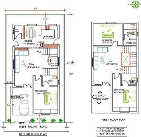 Home Design As Per Vastu 7 30 X 60 North Facing House Plans 2bhk House Plan West Facing House Duplex House Plans