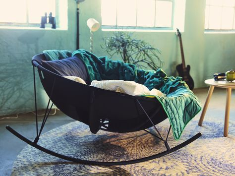 IKEA PS 2017 Rocking-chair IKEA Rocks and soothes you while you read a book, listen to music or just daydream for a moment.