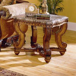 Welton Upholstered Bench Marble Tables Living Room Wood End Tables End Tables
