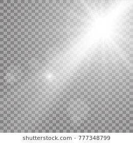 Vector Transparent Sunlight Special Lens Flare Light Effect Lens Flare Light Flare Photoshop Images