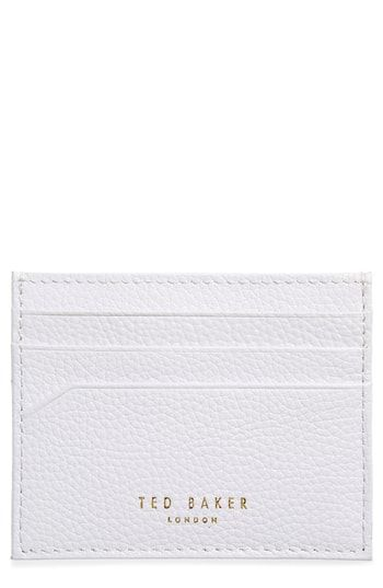 best service 683bb 86340 Ted Baker London Giuliah Leather Card Holder in 2019   Womens Wallet ...