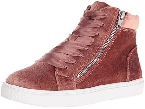 Steve Madden Women's Earnst V Fashion Sneaker, Blush LYtHr