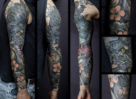 Best Half Sleeve Tattoos For Men