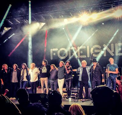 Foreigner Double Vision Then Now Reunion Show Review Atlantic City Mick Jones Rock And Roll Double Vision