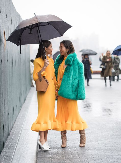 New York Fashion Week Winter 2018 Best Streetstyles