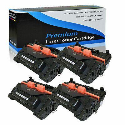 4 Pack Ce390a Toner Cartridges For Hp 90a Laserjet Enterprise 600 M601 M602 M603 In 2020 Toner Cartridge Toner Cartridges