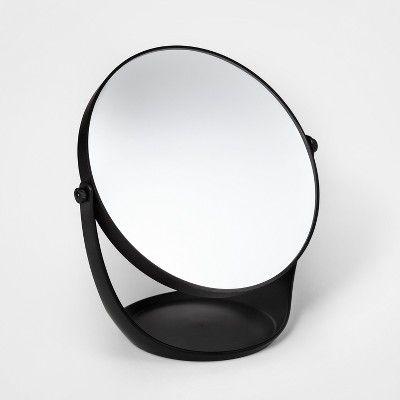 Plastic Vanity Mirror Black Room Essentials Target Mirror