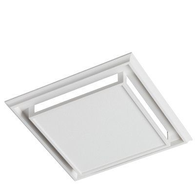 The Aero Pure Super Quiet 110 Cfm Bathroom Ventilation Fan Makes A Perfect Addition To Your Contempo Bathroom Fan Bathroom Ventilation Fan Bathroom Exhaust Fan