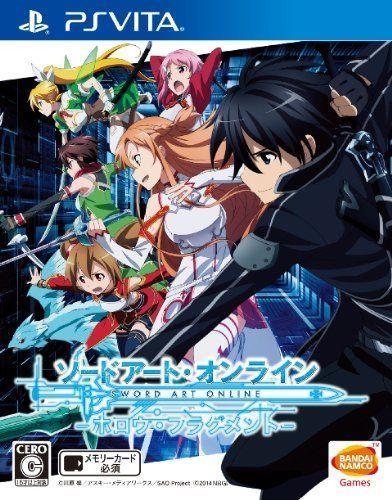 USED PS Vita Sword Art Online Hollow Fragment Bandai