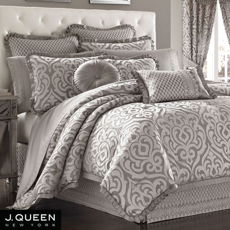 Babylon Scroll Comforter Bedding by J Queen New York