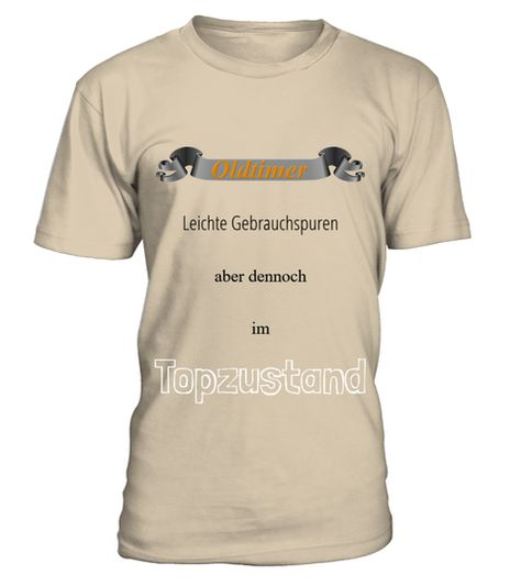 Oldtimer im Topzustand  -  Rundhals T-Shirt Unisex  #Shirts #TShirts