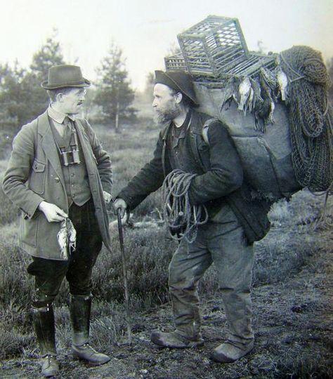 Vogelfänger. Foto: Bildarchiv, LWL-Museum für Naturkunde (vergrößerte Bildansicht wird geöffnet)