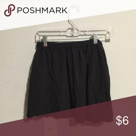 Black brandy Melville mini skirt Black mini skirt Brandy Melville Skirts Mini