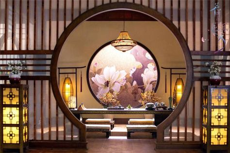 - Best ideas for decoration and makeup - Chinese Interior, Asian Interior, Interior And Exterior, Interior Design, Asian Architecture, Futuristic Architecture, Architecture Office, Chinese Landscape, Zaha Hadid Architects
