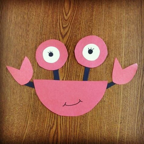 The weather is great for a day @ the beach. Look out for crabs hanging out by the shore, but you should be safe since we're making them here @ Alamitos library!