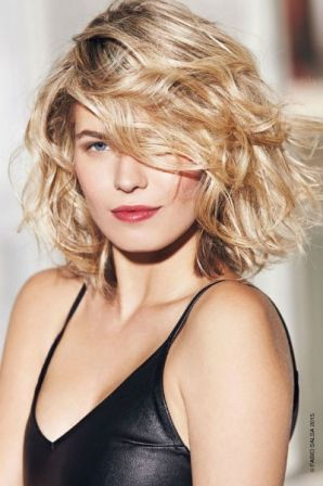 Coiffure on pinterest - Coupe carre ondule ...