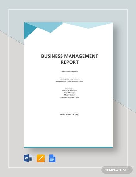 Instantly Download Business Management Report Template Sample Example In Microsoft Word Business Management Template Word Document Background Word Document