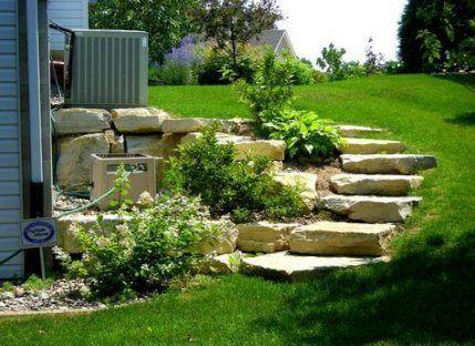 Landscape Design Hill Landscaping Design Hill Landscape Landscaping In 2020 Sloped Backyard Landscaping Backyard Landscaping Landscaping With Rocks