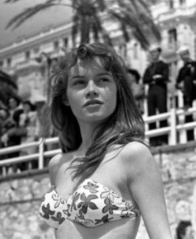A 19 Year Old Brigitte Bardot At Cannes In 1953 Bridget Bardot