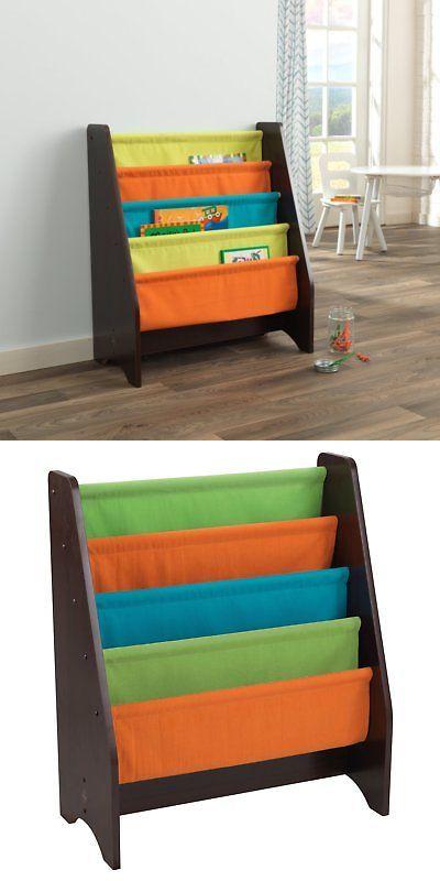 Bookcases 115749 Kidkraft Sling Bookshelf Multicolor