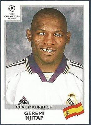 #203-REAL MADRID-FERNANDO MORIENTES PANINI UEFA CHAMPIONS LEAGUE 1999-00