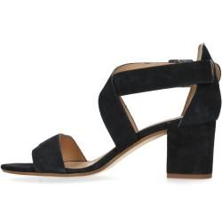Schwarze Sandaletten mit kleinem Absatz (36,37,38,39,40,41