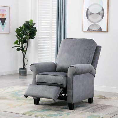 Hallatrow Manual Recliner Furniture Small Recliner Chairs Recliner Chair
