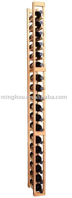Casier 64 bouteilles bois galva - CASTORAMA cave Pinterest - faire un meuble de cuisine soi meme