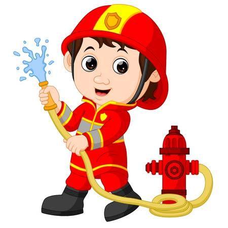 Firefighter Cartoon Firefighter Cartoon Clip Art Cartoon Kids