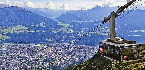 Nordkettenbahn in Innsbruck © Innsbruck Tourism