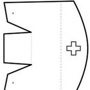 Printable Nurse Hat Template Paper Nurse Hat Pattern Crafts Hat Template Nurse Hat Printable Sticker Labels