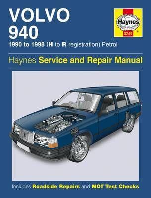 Volvo 940 Paperback Softback Haynes Publishing In 2020 Volvo Repair Manuals Repair