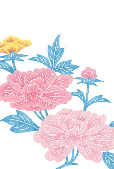gallery doi kaori portforio site simple canvas paintings flower illustration nature paintings